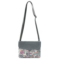 Sakroots Austen Double Compatment Crossbody Handbag