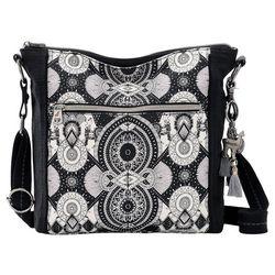 Sakroots Ava Wanderlust Print Crossbody Handbag