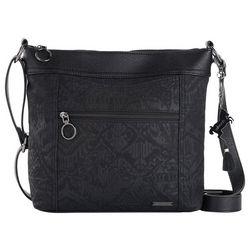 Sakroots Black Arcadia Finn Crossbody Handbag