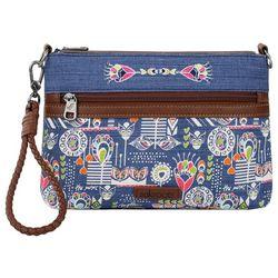 Sakroots Campus Mini Indigo Dream Crossbody Handbag
