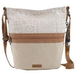 Sakroots Tribal Beauti Soft Bucket Crossbody Handbag