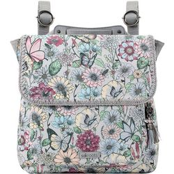 Sakroots Blush In Bloom Convertible Backpack Handbag