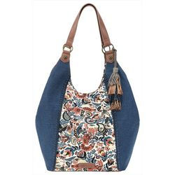 Sakroots Paisley Floral Roma Shopper Handbag