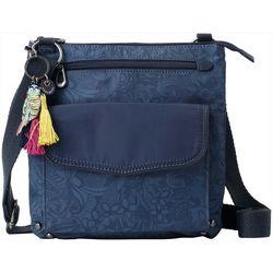 Sakroots Indigo Tonal Spirit Desert Crossbody Handbag