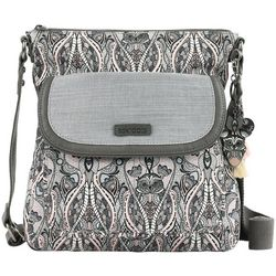 Sakroots Dove Soul Flap Crossbody Handbag