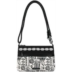 Sakroots Campus Mini Optic Dream Crossbody Handbag