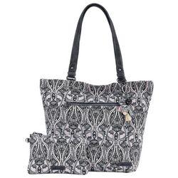 Sakroots Dove Soul Aspen Tote Handbag