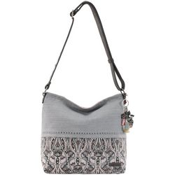 Sakroots Dakota Bucket Dove Soul Crossbody Handbag