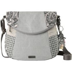 Sakroots Dove Soulful Desert Crossbody Handbag