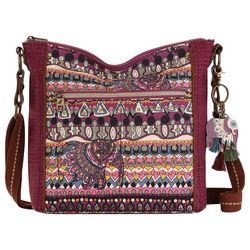 Sakroots Ava Mulberry Crossbody Handbag