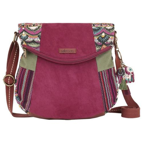 9d0f5fa488 Sakroots Mulberry Fold Over Crossbody Handbag | Bealls Florida