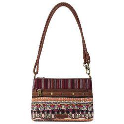 Sakroots Campus Mini Mulberry Crossbody Handbag