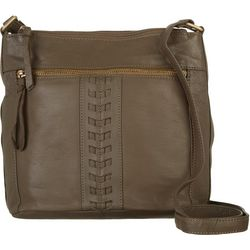 Great American Leather Crossbody Handbag