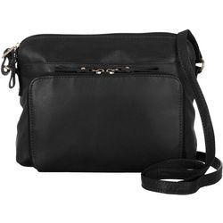Great American Leather Tuscany Organizer Crossbody Handbag