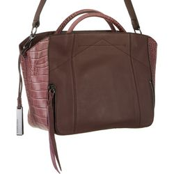 Vince Camuto Alee Satchel Leather Tote Bag