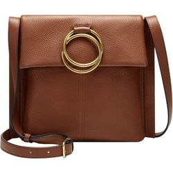 Vince Camuto Livy Large Leather Crossbody Handbag
