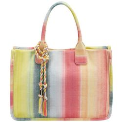 Vince Camuto Orla Sunset Striped Tote