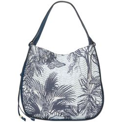 Vince Camuto Hayes Tropic Palm Hobo Bag