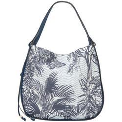 Hayes Tropic Palm Hobo Bag