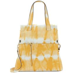 Vince Camuto Lani Printed Leather Tote