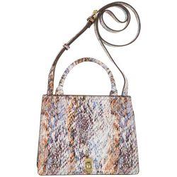 Enzo Angiolini Summer Cobra Mini Satchel Crossbody Handbag