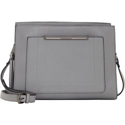 Solid Crossbody Handbag