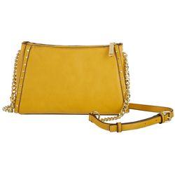 Enzo Angiolini Stud Detail Chain Crossbody Handbag