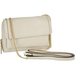 Enzo Angiolini Solid Crossbody Chain Wallet
