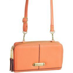 Max Studio Zip Around Crossbody Handbag
