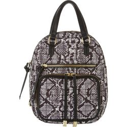 Max Studio Tash Snake Print Backpack Handbag