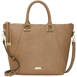 Max Studio Horseshoe Loops Satchel Handbag