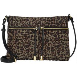 Max Studio Tash Leopard Print Crossbody Handbag