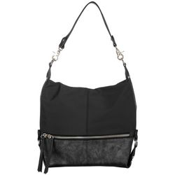 SR2 Nylon Two Tone Hobo Handbag