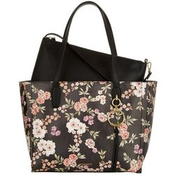 Nine West Ring Leader Large Floral Tote Handbag