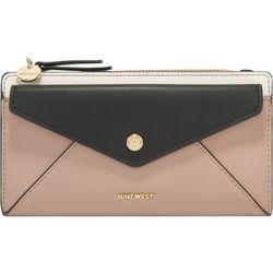 Nine West Kate Slim Zip Wallet