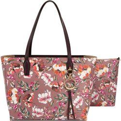 Nine West Ring Leader Floral Meadow Tote Handbag