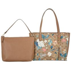 Nine West Ring Leader Large Midsummer Floral Tote Handbag