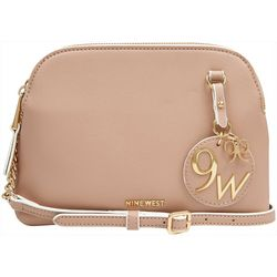 Nine West Lorenza Logo Charm Crossbody Handbag