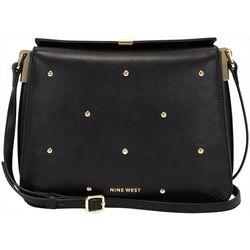 Nine West Emma Studded Crossbody Handbag