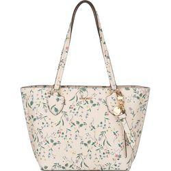 Nine West Payton Floral Print Tote Handbag
