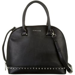 BCBG Poppy Studded Dome Satchel Handbag