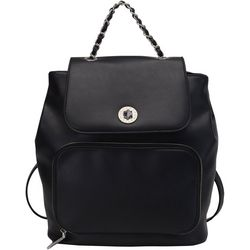 Dinah Faux Leather Backpack