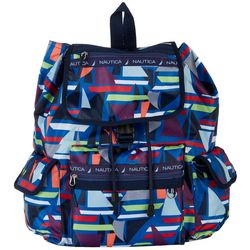 Nautica Captains Quarters Sailboat Cruise Backpack