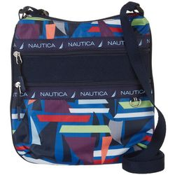 Nautica Captain's Quarters Flat Sailboat Crossbody Handbag