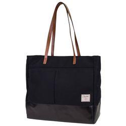 Nautica Mainlander Black Tote Handbag