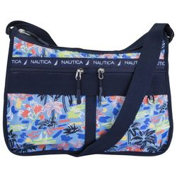 Nautica Captain's Quarters West Palm Print Hobo Handbag