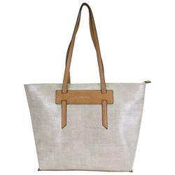 Nautica West Palm Metallic Tote Handbag