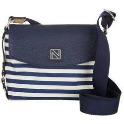 Nautica Traders Cove Striped Crossbody Handbag