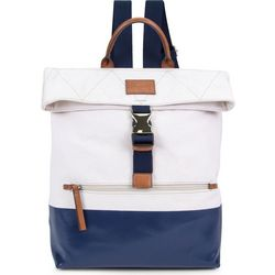 Nautica Modern Trail Navy Blue Colorblock Backpack