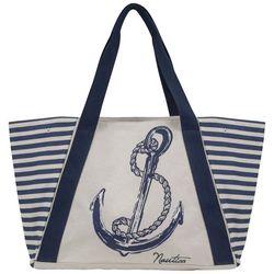 Nautica For Shoal Anchor & Stripes Tote
